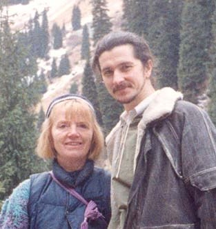 Andrey Lobanov and Lucy Hill, direct disciple of Babaji Haidakhan